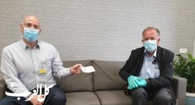 رجل الأعمال توفيق دراوشة يتبرع لـ ثلاث مستشفيات في الشمال
