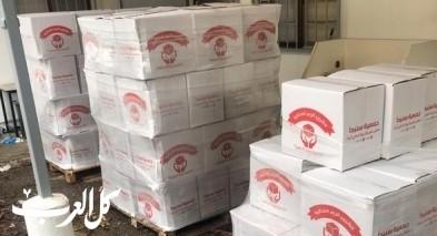 الناصرة: جمعية سنبدأ تقوم بتوزيع 600 رزمة غذائية