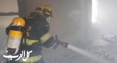 شفاعمرو: حريق في مخزن منزل دون اصابات