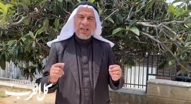 كورونا| أبو دعابس: من تسبب بوفاة عليهِ إثم القاتل