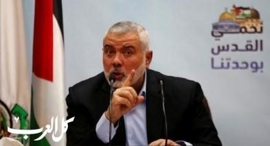 هنية: لدينا اسرى من اسرائيل ومستعدون للمفاوضات
