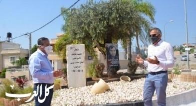 إحياء الذكرى الثامنة لإستشهاد عادل عيسى في كفرقاسم