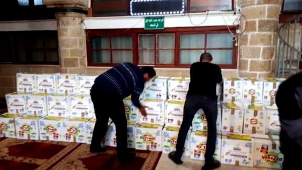 حملة توزيع الطرود الغذائية في عكا