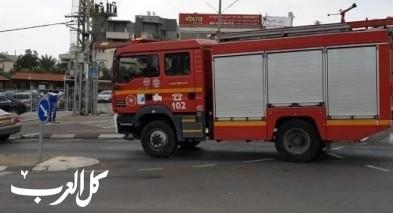 وادي سلّامة: اندلاع حريق بمحل ملابس