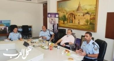الناصرة: جلسة عمل لرؤساء سلطات محلية