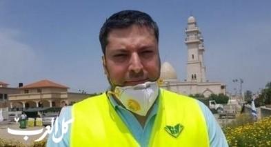 الدكتور عصام زميرو يلقي خطبة الجمعة في مسجد الفاروق