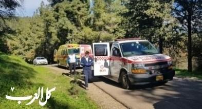 بيت كيشت:إصابة خطيرة بإنقلاب تراكتورون