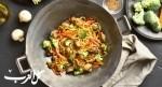 حضّري النودلز بالخضار من المطبخ الصيني