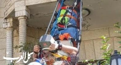 بيت صفافا-القدس:إصابة رجل بنوبة قلبية وحالته خطيرة