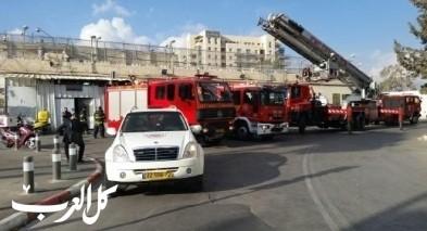 المركز: مصرع مسن جرّاء اندلاع حريق