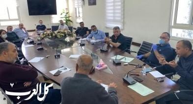 كفرقرع: رئيس المجلس يجتمع بلجان اولاياء الامور