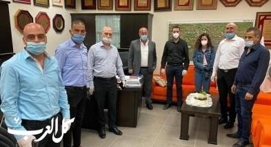 هبوعليم وأمانينا في زيارة لدير الأسد والبعنة