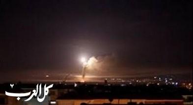اسرائيل تقصف اهدافا داخل سوريا