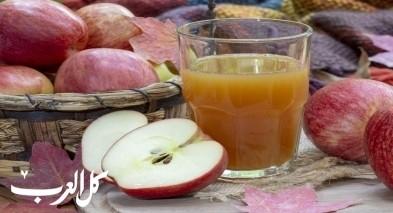 طريقة تحضير عصير التفاح.. صحتين