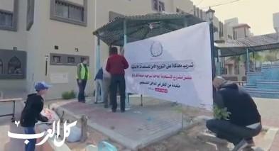 الإغاثة تجري تدريبًا للمؤسسات الأهلية في غزة