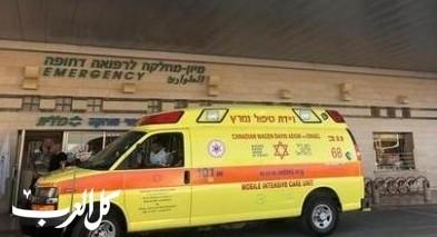 القدس: إصابة شاب بجراح متوسطة إثر تعرضه للدهس