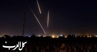 اطلاق صاروخ من غزة لاسرائيل والأخيرة ترد بالقصف