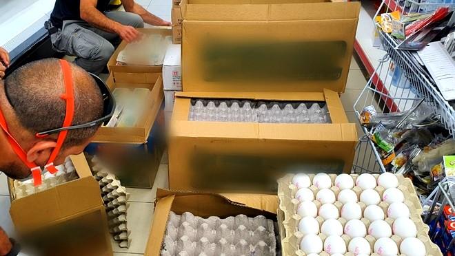 كابول: ضبط 1500 بيضة منتهية الصلاحية