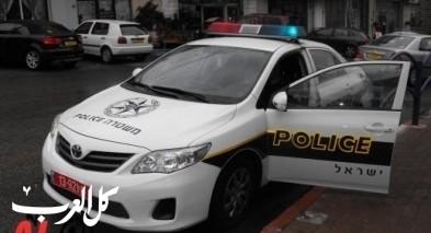 عرعرة: اعتقال 4 شبان بشبهة الإعتداء على الشرطة