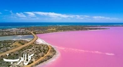 هل سمعتم مرّة عن البحيرة الوردية؟