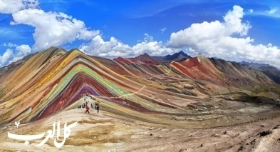 غرائب الدنيا: جبل قوس قزح في بيرو