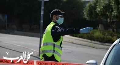 """نشاط شرطة اسرائيل خلال """"لاج باعومير"""""""