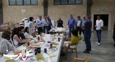 رؤساء السلطات العربية يتطوعون في جمعية امانينا