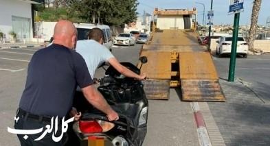 يركا: اعتقال مشتبه بالقيادة بدون رخصة ومهاجمة الشرطة