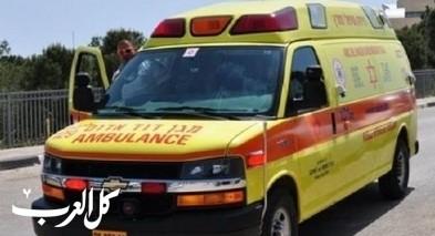 تل ابيب: اصابة شاب اثر انزلاق دراجة نارية