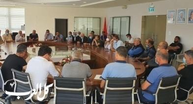 اللجنة الشعبية وبلدية سخنين: نتضامن مع صفوت ابو ريا