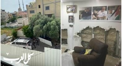 عائلة سلامة من جلجولية: قوات الشرطة اقتحمت منازلنا