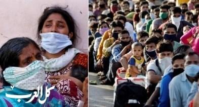 الهند تسجل نحو 4 آلاف إصابة جديدة بكورونا