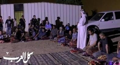 النقب: لقاء ممثلي العشائر بخربة الوطن