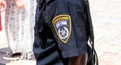إصابة شرطي جراء تعرضه للدهس قرب الطيرة