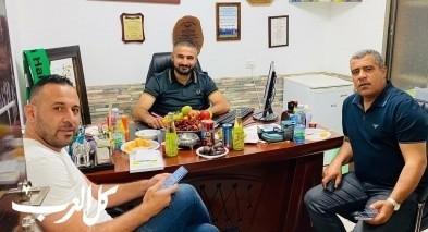 هبوعيل البعينة يتعاقد مع المدرب احمد سبع