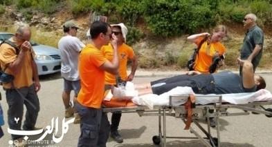 متطوعو وحدة الإنقاذ الجليل-الكرمل يخلصون عالقين