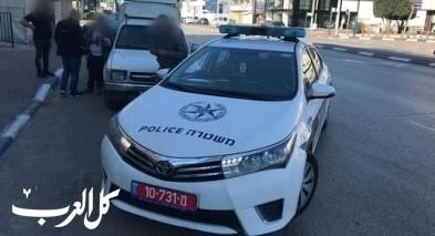 كفرقرع: اعتقال شاب بشبهة الإعتداء على رجال شرطة