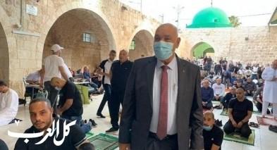 المئات شاركوا بصلاة العيد في المسجد الكبير باللد