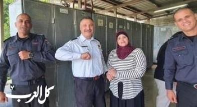 ترقية قائد محطة إطفاء وادي الجوز طارق أبو غربية