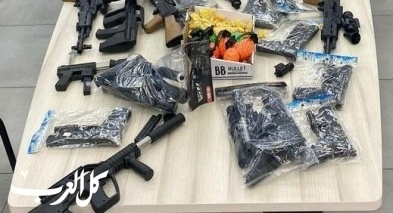سخنين وعرابة: توقيف مشتبهين بعد ضبط مسدسات بلاستيكية