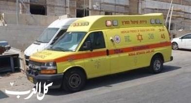إصابة مسن جرّاء سقوطه عن حصان في عيمك حفير
