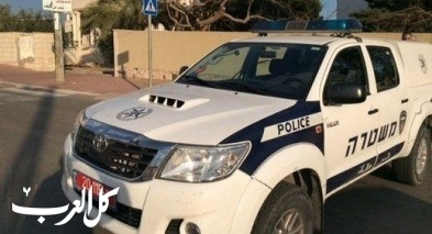 اعتقال 4 شبان من رهط بشبهة التسلل لهدف السرقة