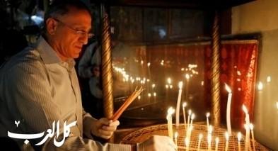 صور- بعد شهرين من الإغلاق| إعادة فتح كنيسة المهد