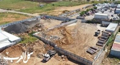 كفربرا| مصادرة شاحنة أفرغت نفايات بشكل غير قانوني