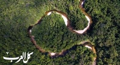 نهر الأمازون من عجائب الطبيعة