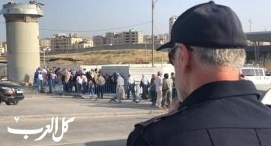 السماح بدخول الفلسطينيين أصحاب التصاريح لإسرائيل
