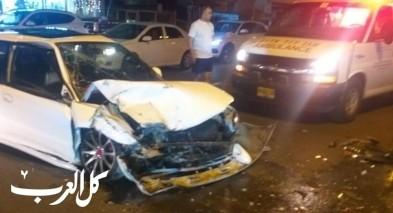 كفركنا: اصابة شخصين بحادث على الشارع الرئيسي