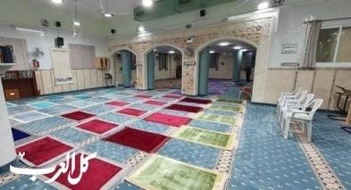 كفرقرع: تجهيز المساجد لصلاة الجمعة وفق الإجراءات