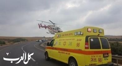 النقب: اصابة فتى بجراح خطيرة جراء اصابته خلال ركوب دراجته