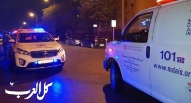 القدس: اصابة خطيرة لشاب بحادث دهس